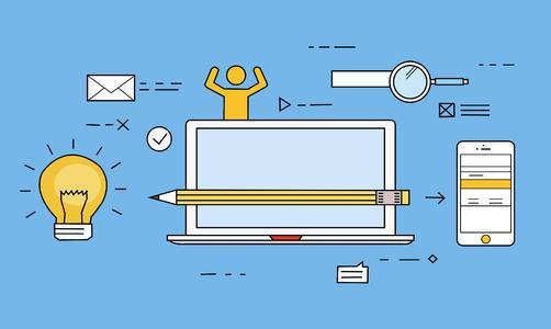 如何建设一个网站,用户量和功能需求不大的那种!