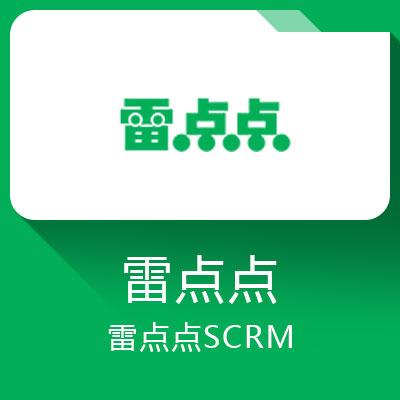雷点点SCRM-定位中小外贸企业的saas云服务平台