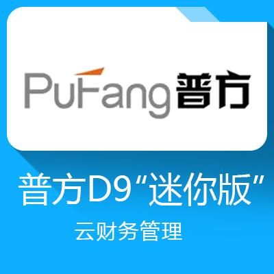 """普方D9""""迷你版""""云财务管理—高效智能的财务管理软件"""