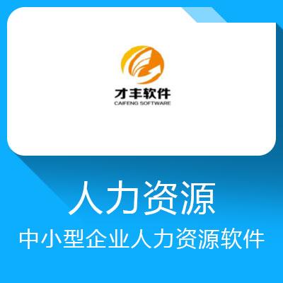 才丰EZHR-中小型企业人力资源软件