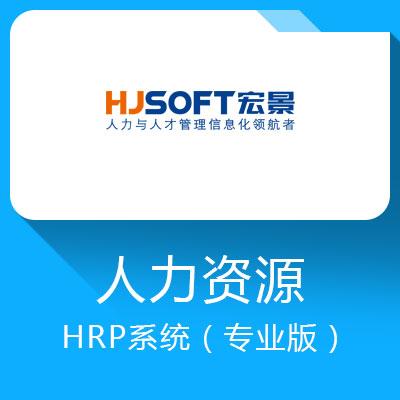 宏景HCM-人力与人才管理信息化