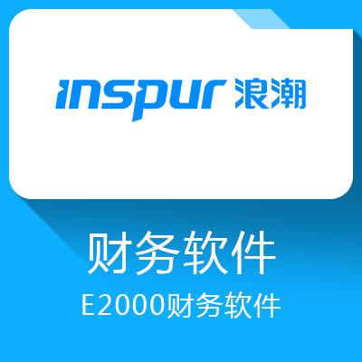浪潮E2000财务软件-中小企业管理软件
