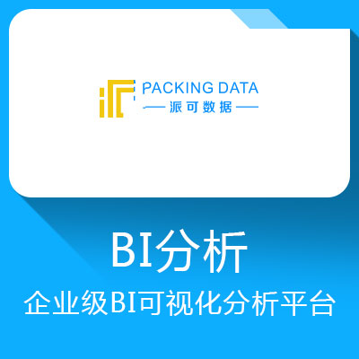 派可数据BI-一站式企业级BI可视化分析平台